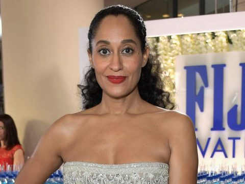 Tracee Ellis Ross at the Golden Globe Awards (Photo/Getty Images-Charley Gallay)