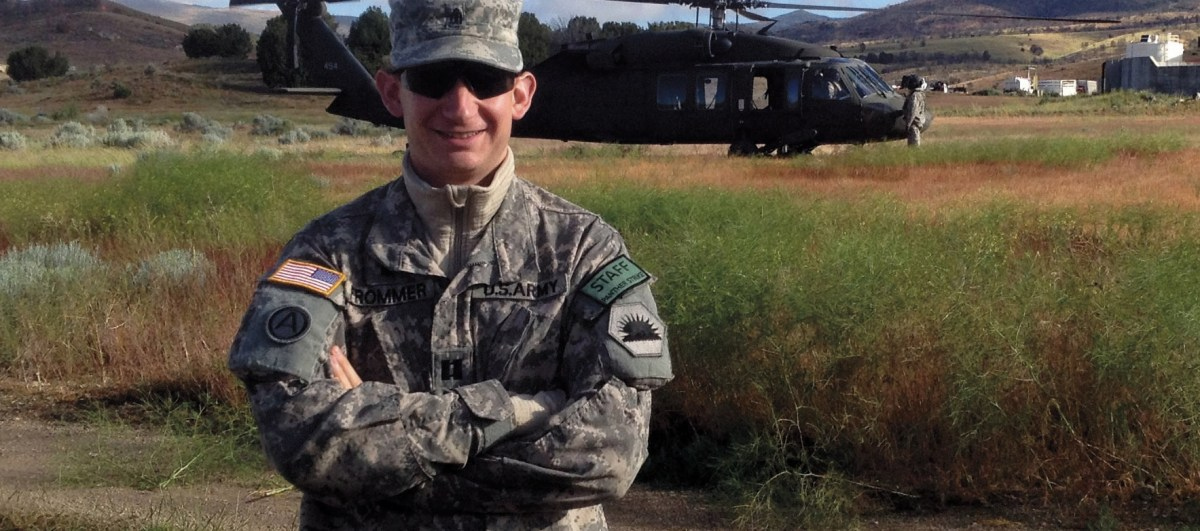 Cantor David Frommer is also a chaplain with the U.S. Army National Guard. (Photo/file)