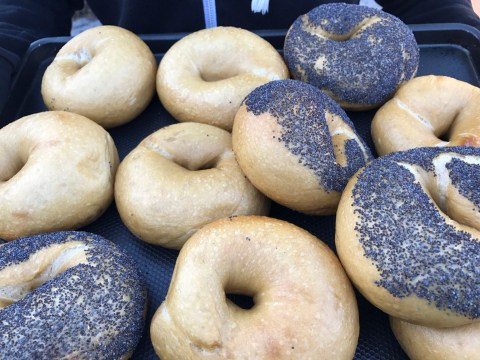 The New York-style bagels of Boichik Bagels (Alix Wall)