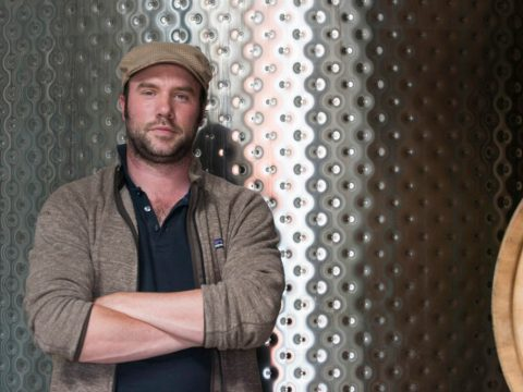 Jonathan Hajdu at Covenant Winery in Berkeley (Photo/Covenant Winery)