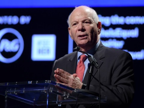 Sen. Ben Cardin speaks in New York, Sept. 28, 2018. (Photo/Leigh Vogel-Getty Images for Procter & Gamble)