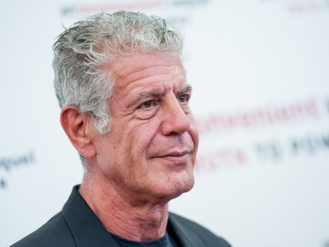 Anthony Bourdain at the Whitby Hotel in New York, July 17, 2017. (Photo/JTA-Roy Rochlin-FilmMagic-Getty Images)