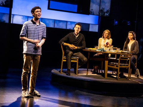 "Ben Levi Ross plays the lead in touring production of ""Dear Evan Hansen."" (Photo/Matthew Murphy)"