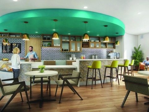 The Café at Frank Residences will provide a casual dining experience for our residents and their guests.
