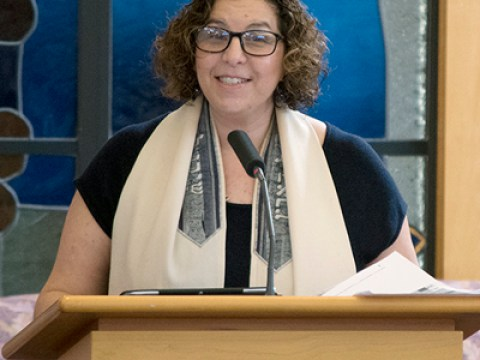 Cantor Devorah Felder-Levy from Shir Hadash
