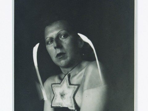 "Claude Cahun, ""Self-portrait,"" ca. 1925 (Courtesy Leslie Tonkonow and Klaus Ottmann)"