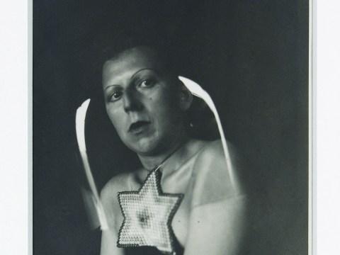 """Claude Cahun, """"Self-portrait,"""" ca. 1925 (Courtesy Leslie Tonkonow and Klaus Ottmann)"""