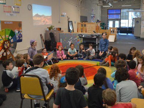 Activity at Edah's Berkeley space