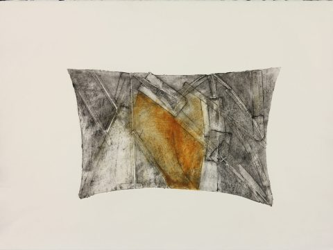"""Patched Dream,"" from the series ""Pillows"" by Lola Fraknoi"