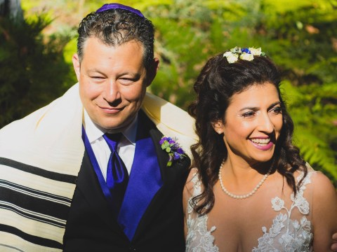 Rebecca Katz and Darian Heyman wed on Sept. 22, 2018.