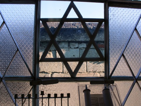 View from inside the Guantanamo synagogue (Photo/Laura Paull)