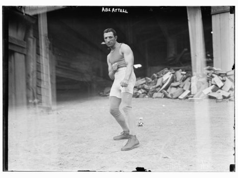 Abe Attell in 1900. /Library of Congress
