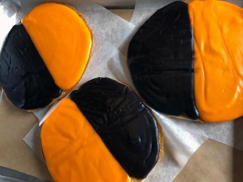Glenda Dougherty's seasonal take on the classic New York black and white cookie. /Alix Wall