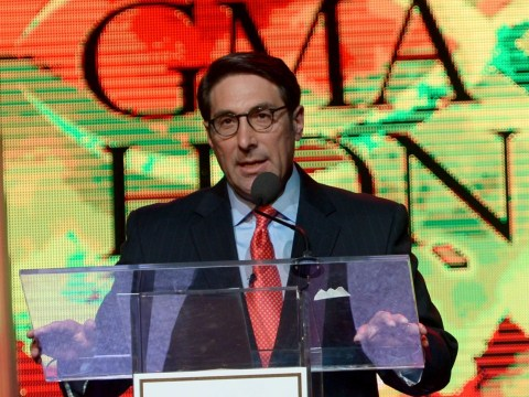 Chief Counsel for the American Center for Law & Justice Jay Sekulow hosts the GMA Honors Celebration and Hall of Fame Induction at the Allen Arena at Lipscomb University in Nashville, Tennessee on April 29, 2014. (JTA/Rick Diamond/Getty Images for GMA)