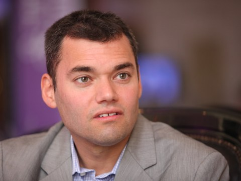 Peter Beinart attending the Israeli Presidential Conference in Jerusalem, June 21 2012. (JTA/Flash90)