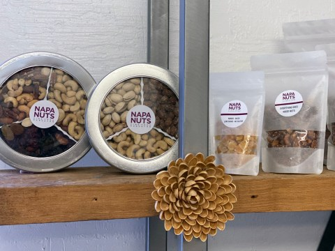 A sampling of Napa Nuts products. (Bonnie Miluso)