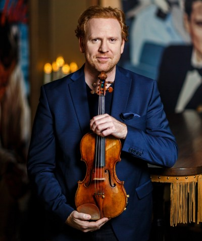 Daniel Hope of the New Century Chamber Orchestra will be the featured soloist in a new work commissioned for the Violins of Hope San Francisco Bay Area. (Nicolas Zovni)
