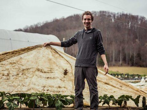 Yogev Von Kundra raises animals and medicinal herbs on his farm in Damascus, Virginia. (Courtesy Yogev Von Kundra)