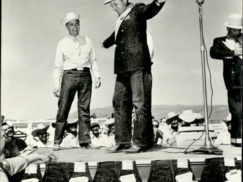 Bing Crosby in Levi's, 1951 (Levi Strauss & Co. Archives)