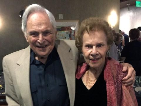 Herbert and Liz Leifer, editors of the Moldaw Mosaic. (Courtesy Herbert Leifer)