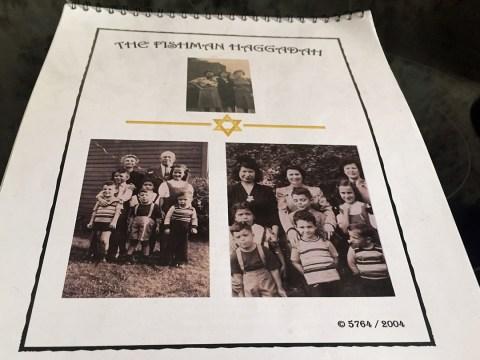 Doreen Alper's family's haggadah features photos of generations of the family. (DOREEN ALPER)