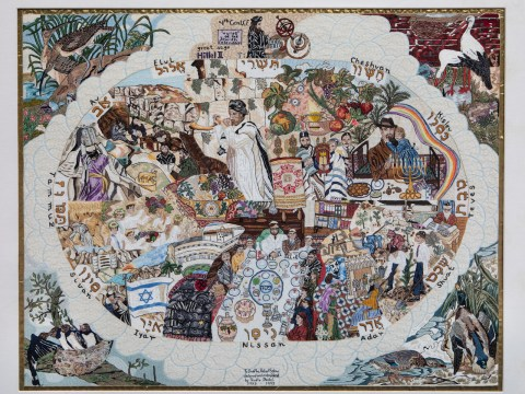 """The Jewish Calendar"" by Trudie Strobel."