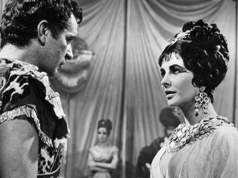 Elizabeth Taylor seen alongside her co-star Richard Burton in the 1963 film. (Photo/JTA-Ullstein Bild via Getty Images)