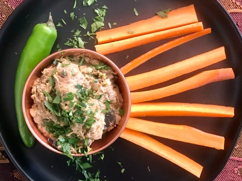 Eggplant and Jalapeño Dip. (Photo/Faith Kramer)