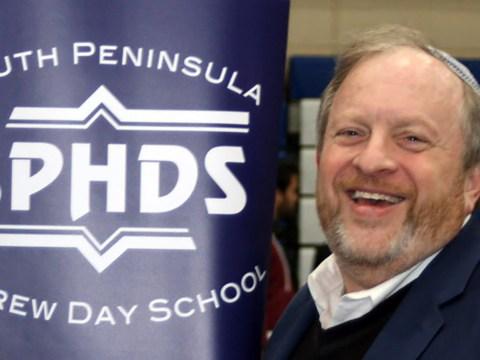 Rabbi Perry Tirschwell, head of school of South Peninsula Hebrew Day School.