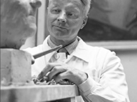Fritz von Graevenitz in 1956