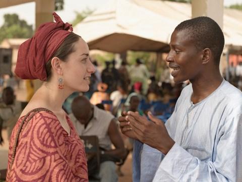 Dr. Jessica Beckerman in Yirimadio, Mali, June 16, 2007.