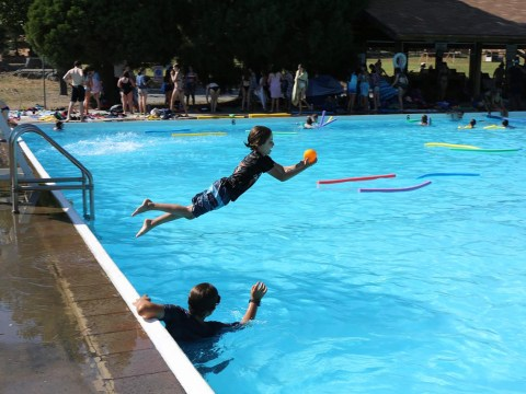 Camp Tawonga is back open, and campers are having a ball.