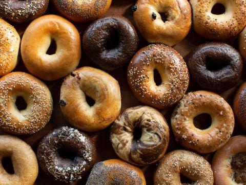 The many bagels of Boichik Bagels. (Photo/Lydia Daniller)
