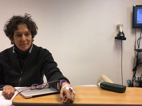 "Debra Chasnoff in ""Prognosis: Notes on Living."""