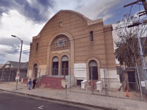 The century-old Breed Street Shul in the Boyle Heights neighborhood of Los Angeles. (Photo/Google Maps)