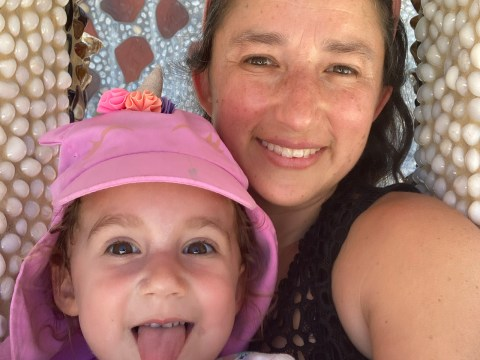 Ariela Ronay-Jinich and her daughter Alma