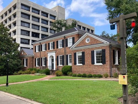 The Anne Frank Center at the University of South Carolina in Columbia is located in the Barringer House. (Photo/RNS-Yonat Shimron)