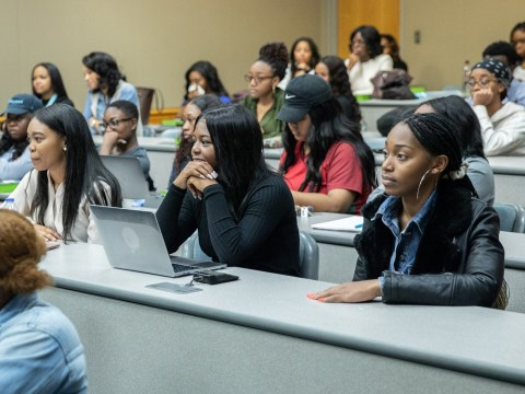 Germanacos funds a wide range of projects and causes, including Spelman College, a historically Black women's college in Atlanta.
