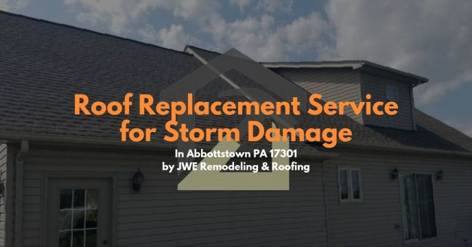 High Quality Abbottstown PA Roofing Services by JWE: Roof Repairs & Roof Replacements. Learn more on this page and contact us for a free roof inspection.