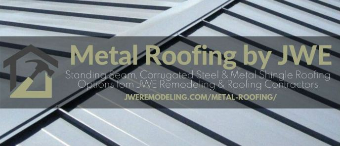 Metal Roofing Installation By JWE Remodeling & Roofing Contractor