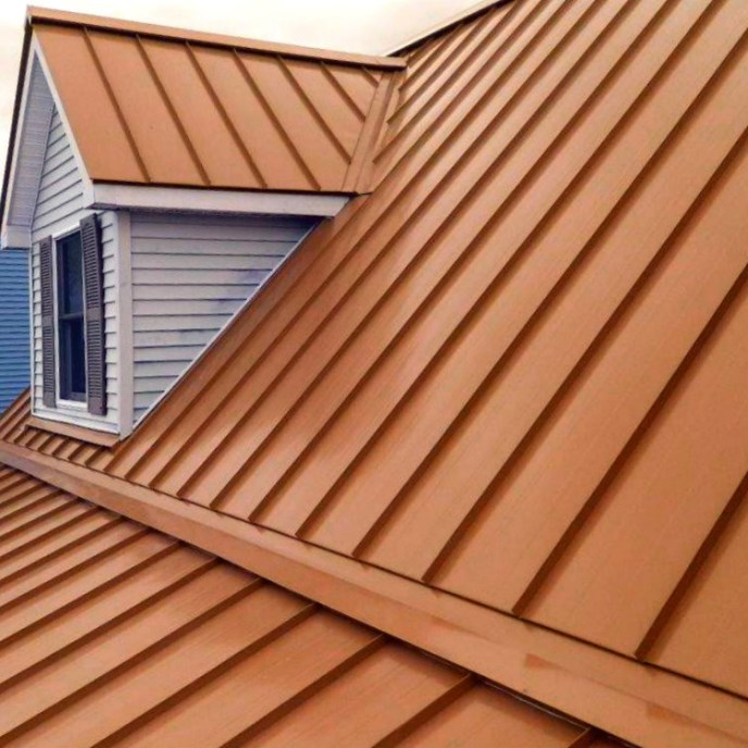 Standing seam metal roofing by JWE Remodeling and Roofing contractor in Hanover PA 17331