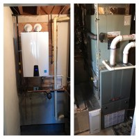 High Efficiency Gas Furnace and Tankless Water Heater ...