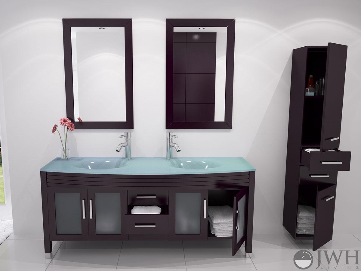 grand regent double sink vanity