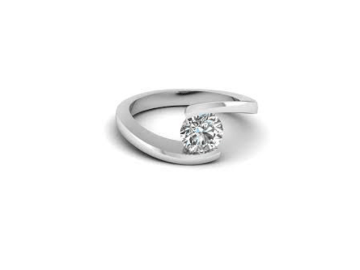 bypass engagement ring style