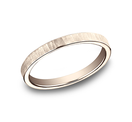 womens rose gold wedding ring by benchmark rings