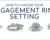 how to choose your engagement ring setting best for you