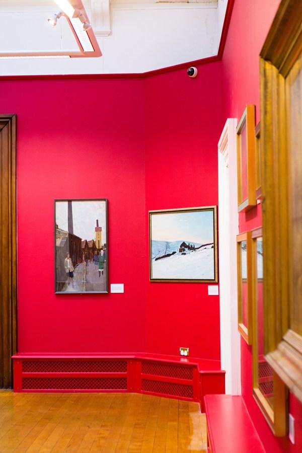 Smith Art Gallery Interior