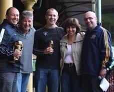 L-R Mick Vasin, Steve Negrine, Darron Lonstein, Ruth Nissim & Danny Hochberg