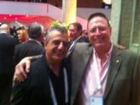 Noram Issa and Ron Weiser
