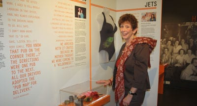 Anna Berger and the exhibition